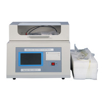 Transformer oil dielectric loss resistivity measuring test equipment