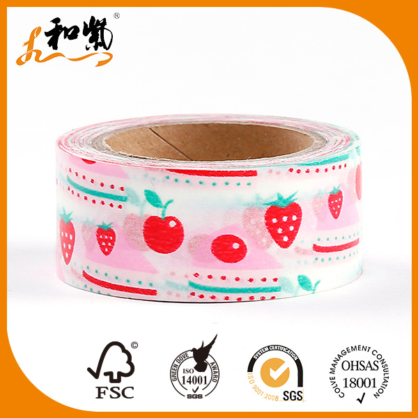 Single Pattern strong adhesive laser duct tape made in china