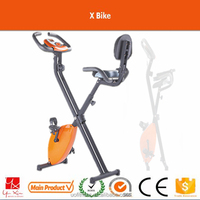 2016 factory supply indoor gym health fitness heavy flywheel cycle pedal exercise folding belt magnetic x bicycle with ipad desk