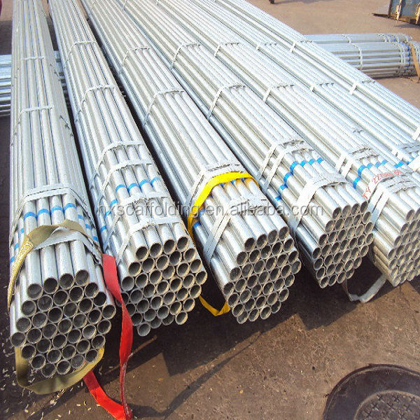 scaffold galvanize pipe 6 meter with high quality
