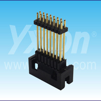 Dongguan SGS certificate pitch 2.0mm triple layer dual row straight box header