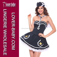 Cosplay Anime Cute Navy Sailor Suits Ladies Sexy Stewardess Uniform Sexy Adult Party Costume
