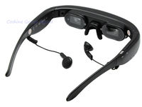 "New 72"" inch Virtual Digital Video Theater Eyewear Glasses /AV-input/Wide Screen"