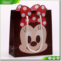 2015 Factory Custom Foldable Plastic Gift Promotional Bags Paper Gift Bag Shopping Bag