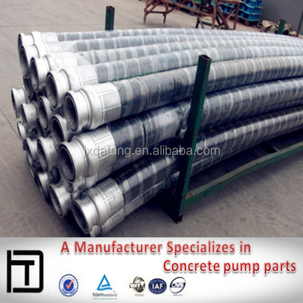 DN125 Concrete Pump parts Rubber Hose