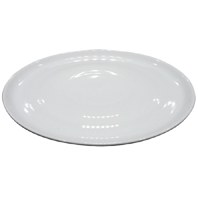 Modern Designed Popular Plain White Hotel And Restaurant Ceramic Porcelain Pizza Plates Wholesale