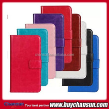 Cheap wallet leather case for Samsung Galaxy S5 mini