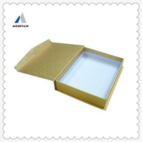 Mountain design book shape box/gift packing wholesale
