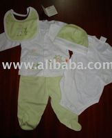 organic peruvian pima cotton baby set clothing
