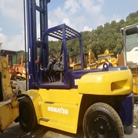 Manual construction machine diesel engine 10 ton Japan used forklift for sale