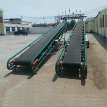 China Customized Adjusted Direction Rubber Inclined Mobile Belt Conveyor For Sale
