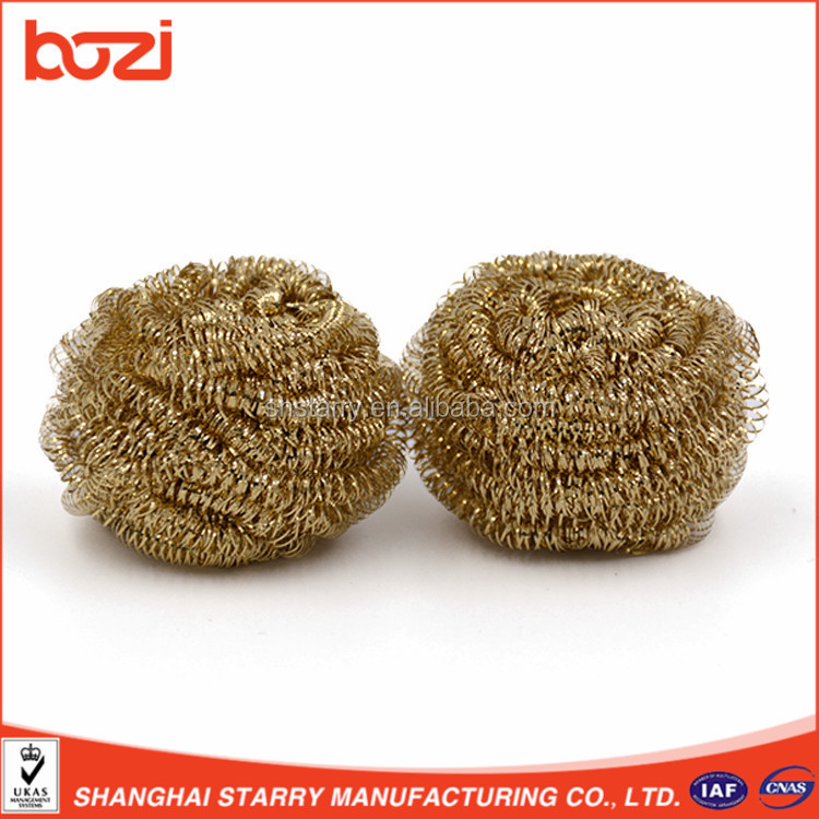 Helical Structure Copper Wire Scrubber