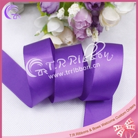1 inch 25mm solid color satin ribbon for hair bows making