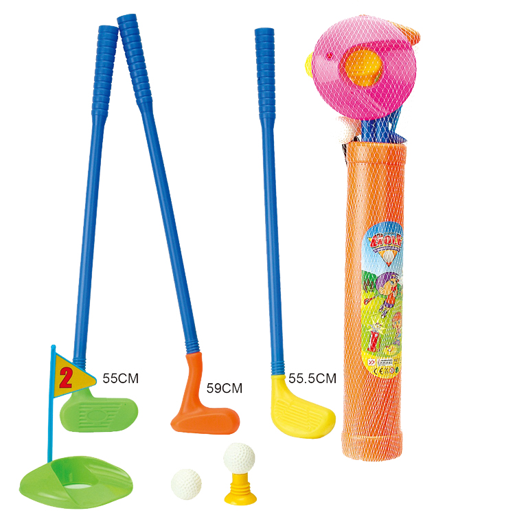 New design sport toy plastic golf club with ball golf set for kids