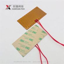 Flexible Polyimide Kapton Film Heater With 3M