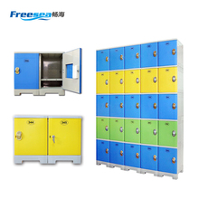 gym locker wide ventilated/ gym lockers wall mounted/ gym magnetic locker lock