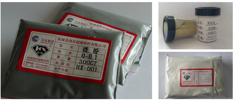 China manufacture synthetic black diamond for pcd dies