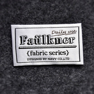 Fashion Pillow Woven Label for Wash Instruction