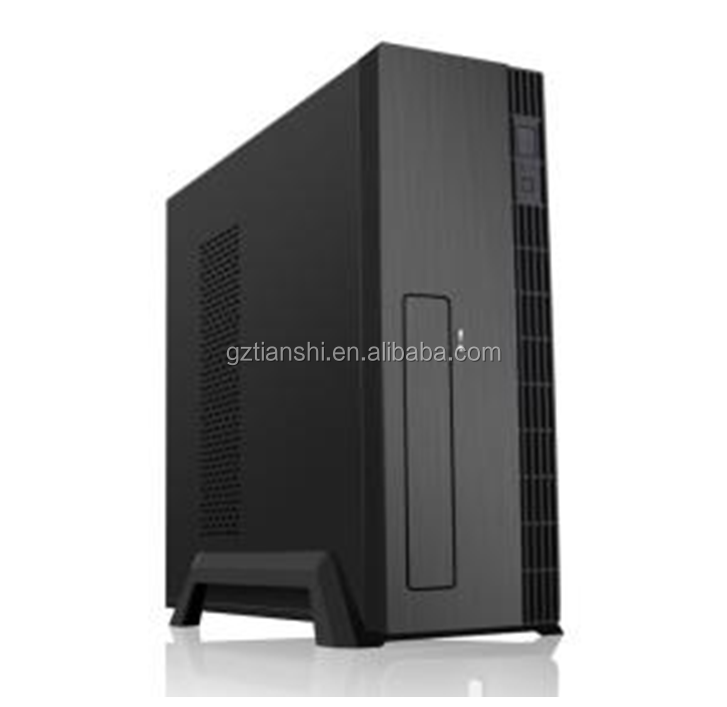 High quality SPCC material thin mini ITX cube computer PC case