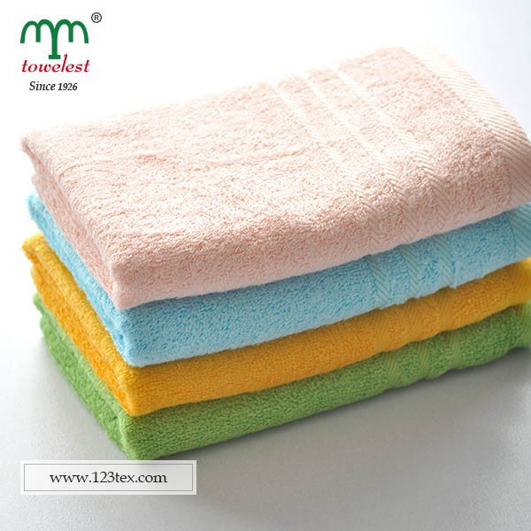 13x30 inch bamboo hand towels plain colors 330gsm antibacterial soft China manufacturer