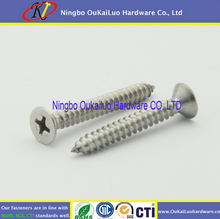 Hot sale product Brass counter sunk slotted head custom screw from Ningbo factory