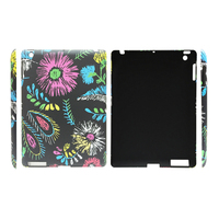 Embossing Hard Snap on Case Cover For iPad 2/3/4 Mini 1/2/3 Air Air5