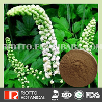 pure natural black cohosh extract actein 2.5% 8% with free sample