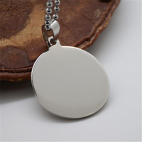 Yiwu Aceon Stainless Steel High polish Engraveable Personalized Blank Dog Tag