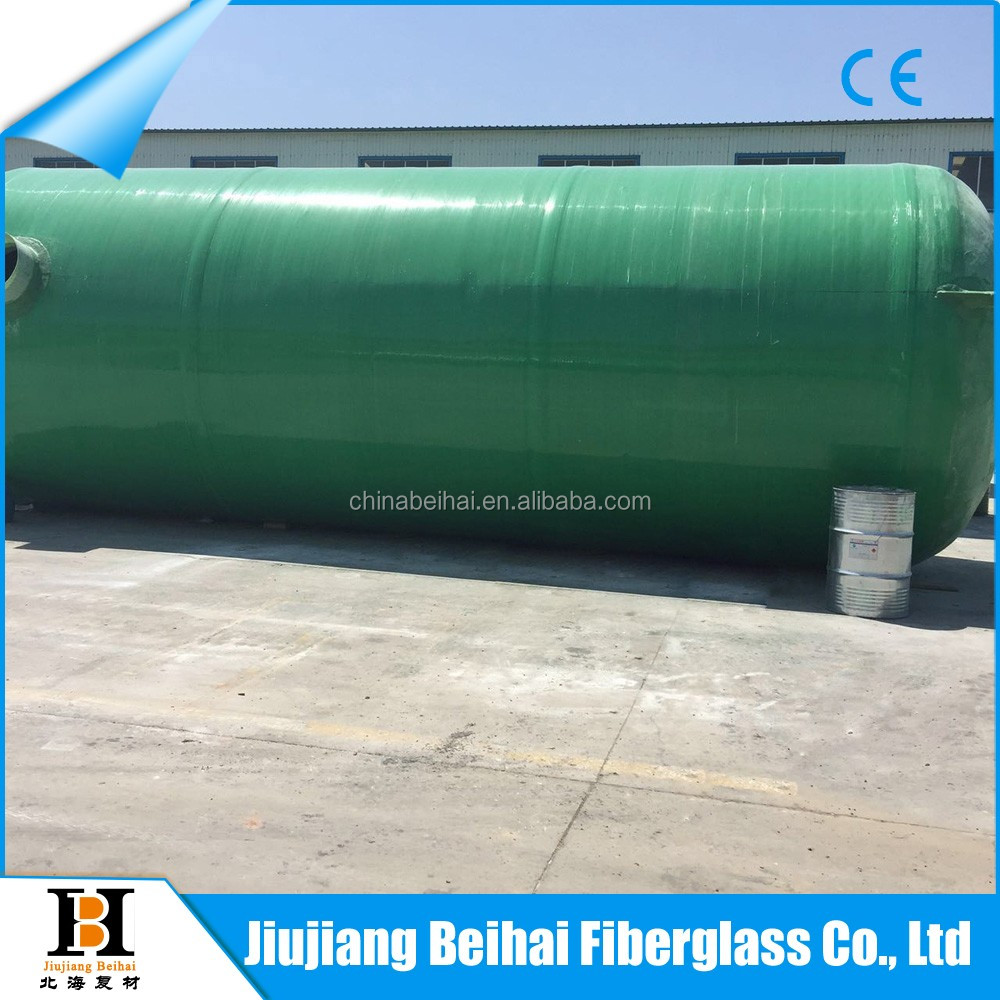 acid fog purification tower 500m3 frp water storage tank