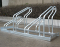 Galvanised Double Level Cycle Rack