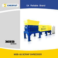 MSB-7.5 Industrial cardboard shredder machine with CE certification
