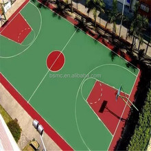 Factory price basketball court flooring material cost with self-levelling