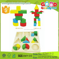 OEM Welcomed Top Quality Multi-Functional Kids Wooden Toy Wholesale Geometric Toy