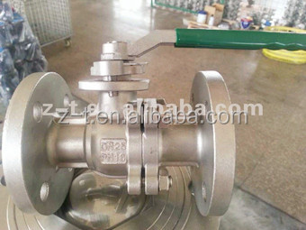 GB Flanged Ball Valve floating full bore standard China supplier