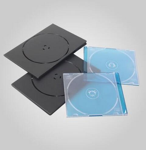 4 cavities plastic CD /DVD case mould