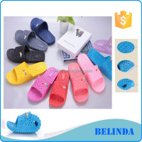 cheap factory price comfortable wear colorful indoor slipper shoes