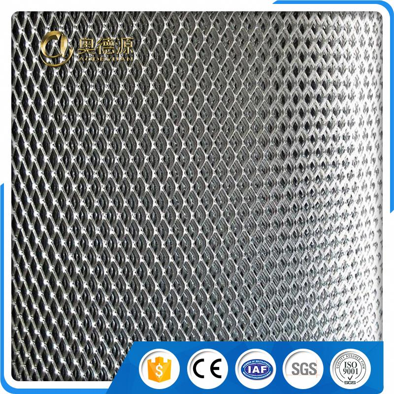 fine container sizes expanded metal wire mesh