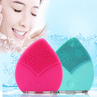 SR-1407 face cleansing brush/exfoliate dead skin facial brush/Vibration Massage deep cleansing facial brush