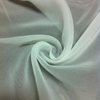 (15+15)*(15+15)composite poly brushed chiffon fabric