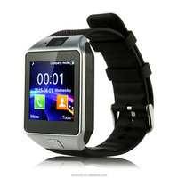2017 Factory Directly Supply Wholesale Bluetooth Smartwatch DZ09 Smart Watch Phone