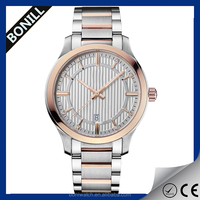 Japan movt quartz watch stainless with crystal 2014 fashion lady watch