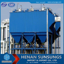 High efficiency filtration dust collection processor/pipe dust collection for limestone factory