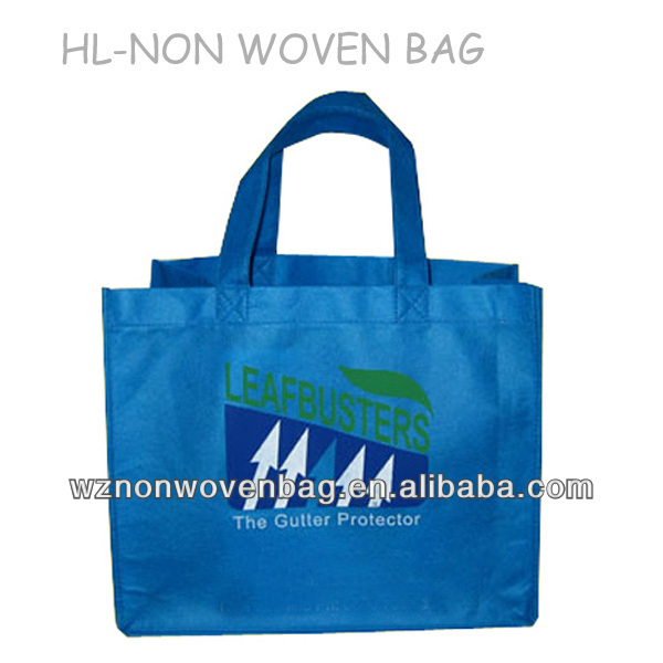 2014 China custom promotional <strong>eco</strong> carrying non woven bag fabric manufacture