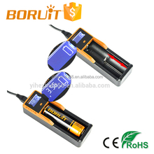 Rechargeable C1 Battery Single Charger With LCD Display For Different Models Of Battery