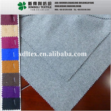 Lady's fashion various color wool touch 100% synthetic fake melton wool heavy woolen coat fabric