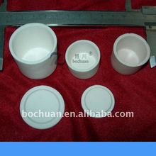 High alumina crucible and lid