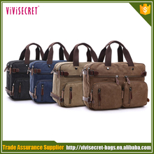 European classic style fashion vintage canvas men handbag wholesale in China