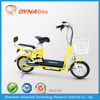 2015 EEC cute cheap adult hybrid motorbike / electric hybrid moped from Chinese DYNABike factory