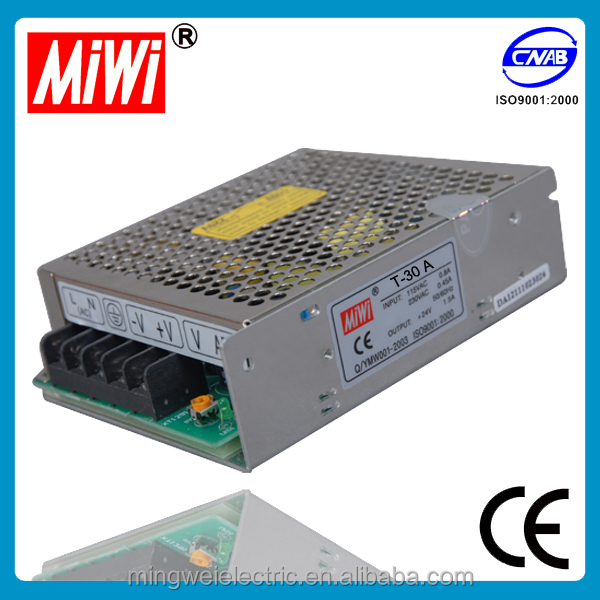 D-30B dual output 220vac to 24vdc power supply