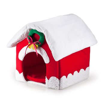 New pet products dog house Christmas House dog beds for pet